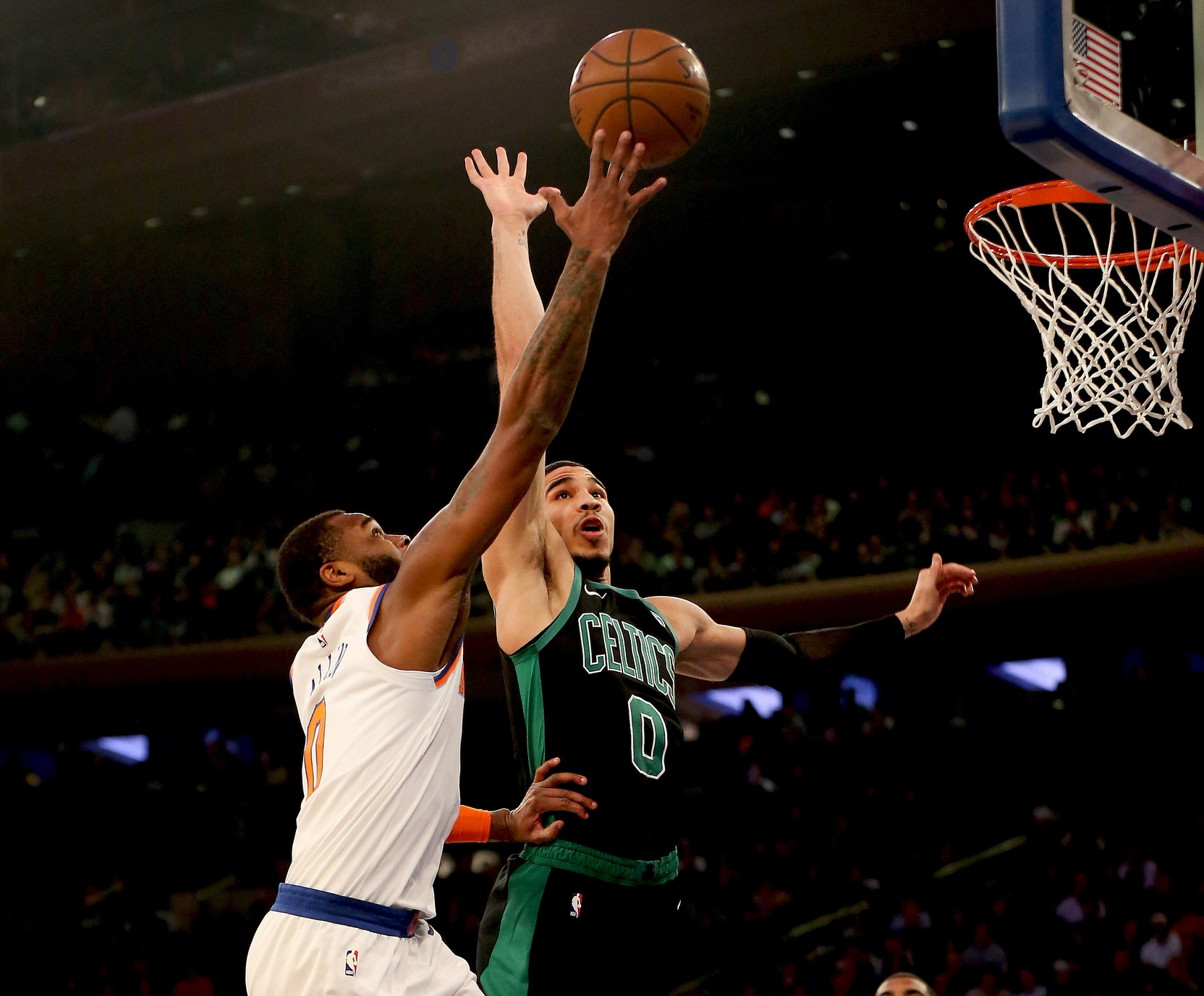 Your Morning Dump... Where the Celtics survive the noise, nonsense and distraction in NY
