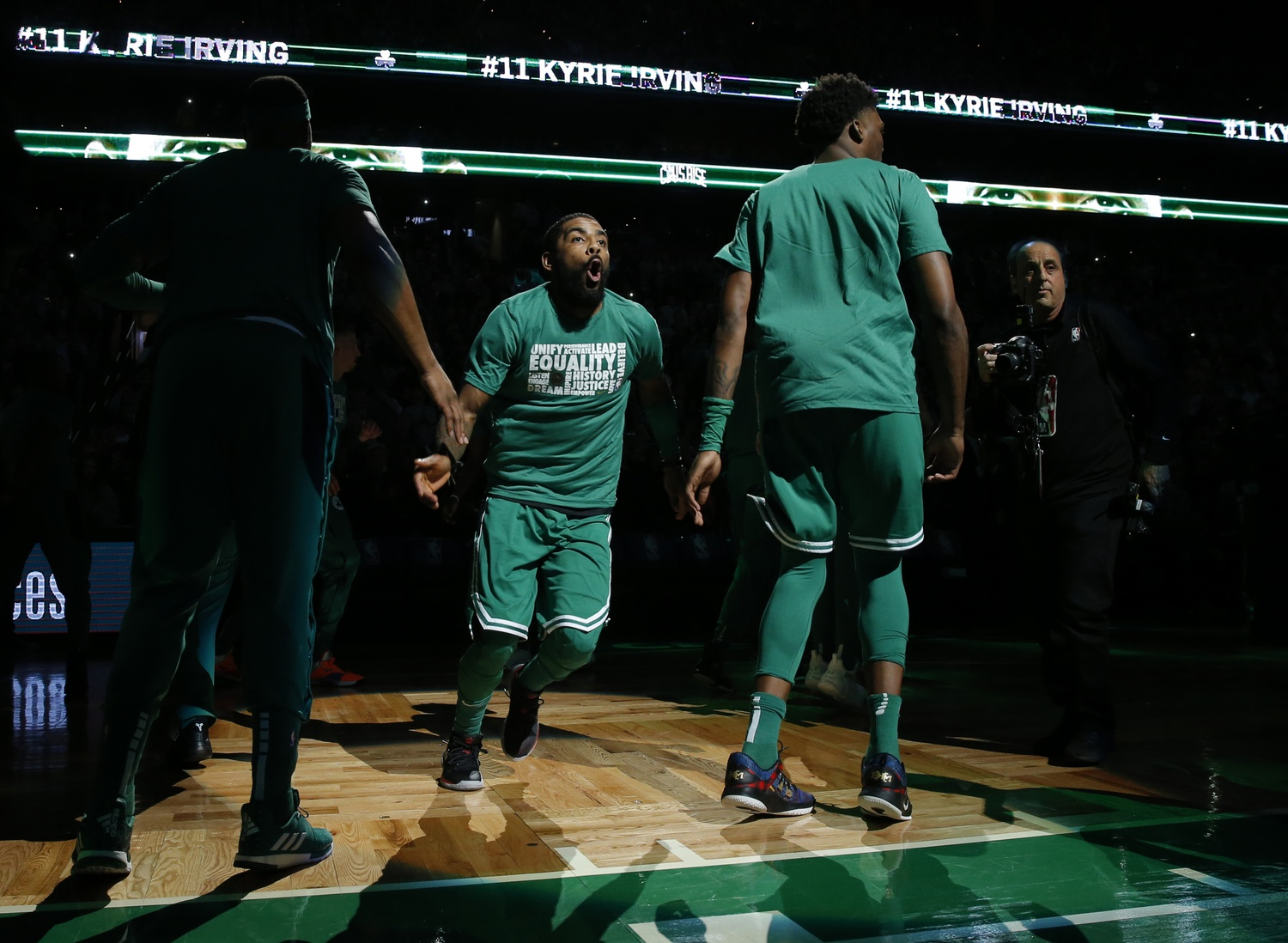 Your Afternoon Dump... We're all hoping Kyrie Irving doesn't leave Danny Ainge at the altar