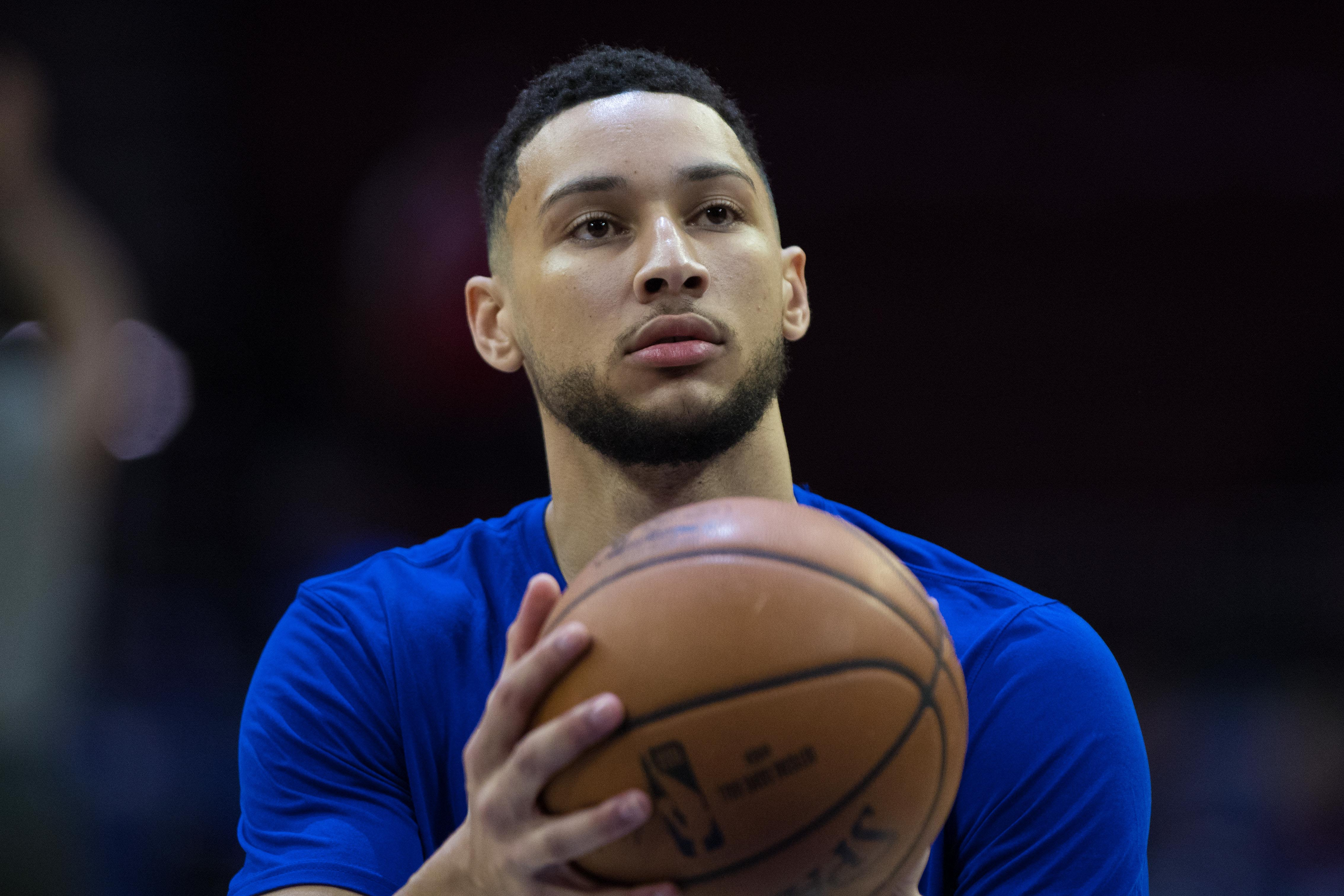 Ben Simmons wanting to speak with Magic Johnson isn't as deep as Sixers fans think