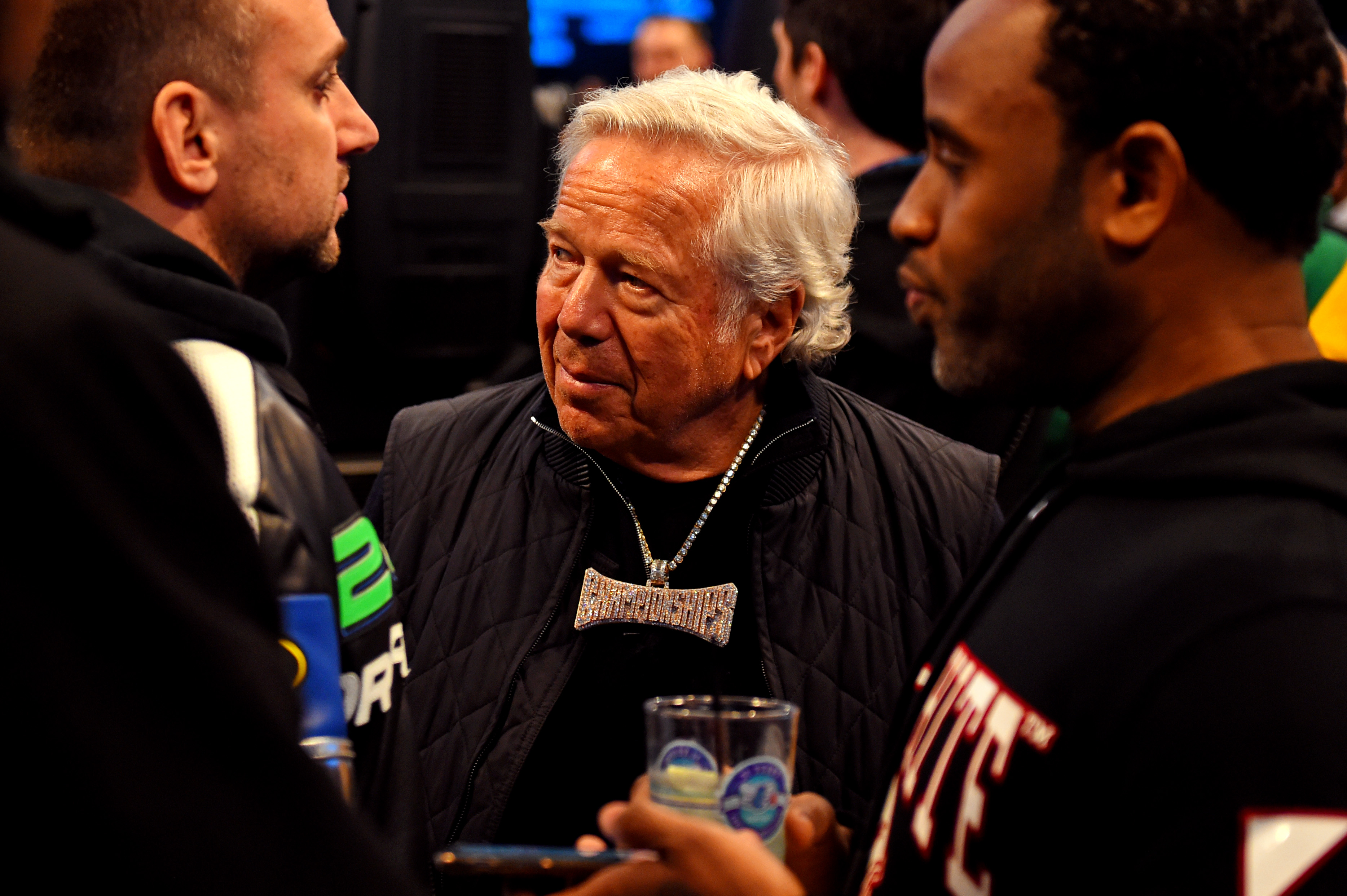 Look: Patriots owner Robert Kraft spotted partying in Hollywood amid prostitution scandal at day spa