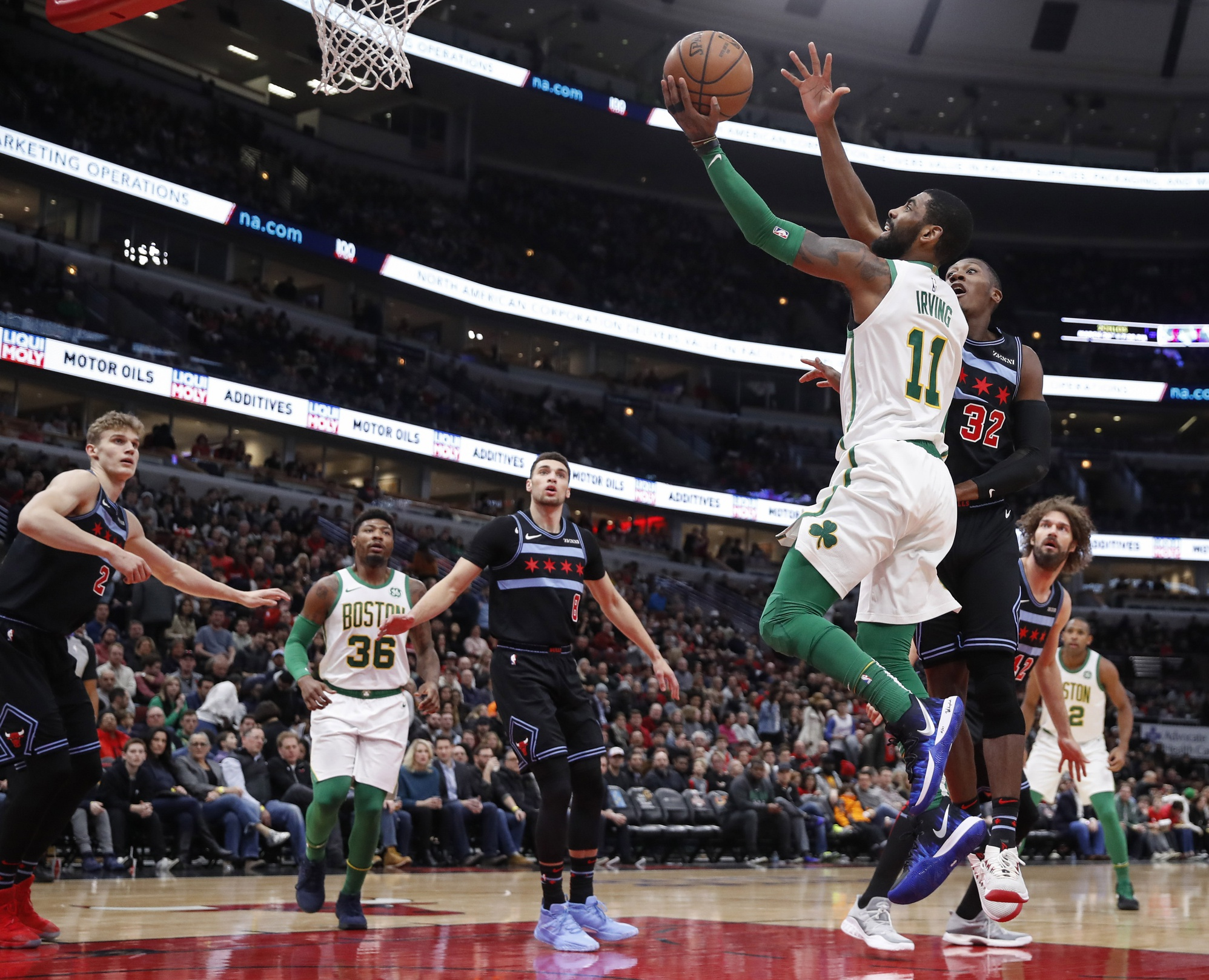 Your Morning Dump... Where Kyrie Irving has no time to wallow in the negativity