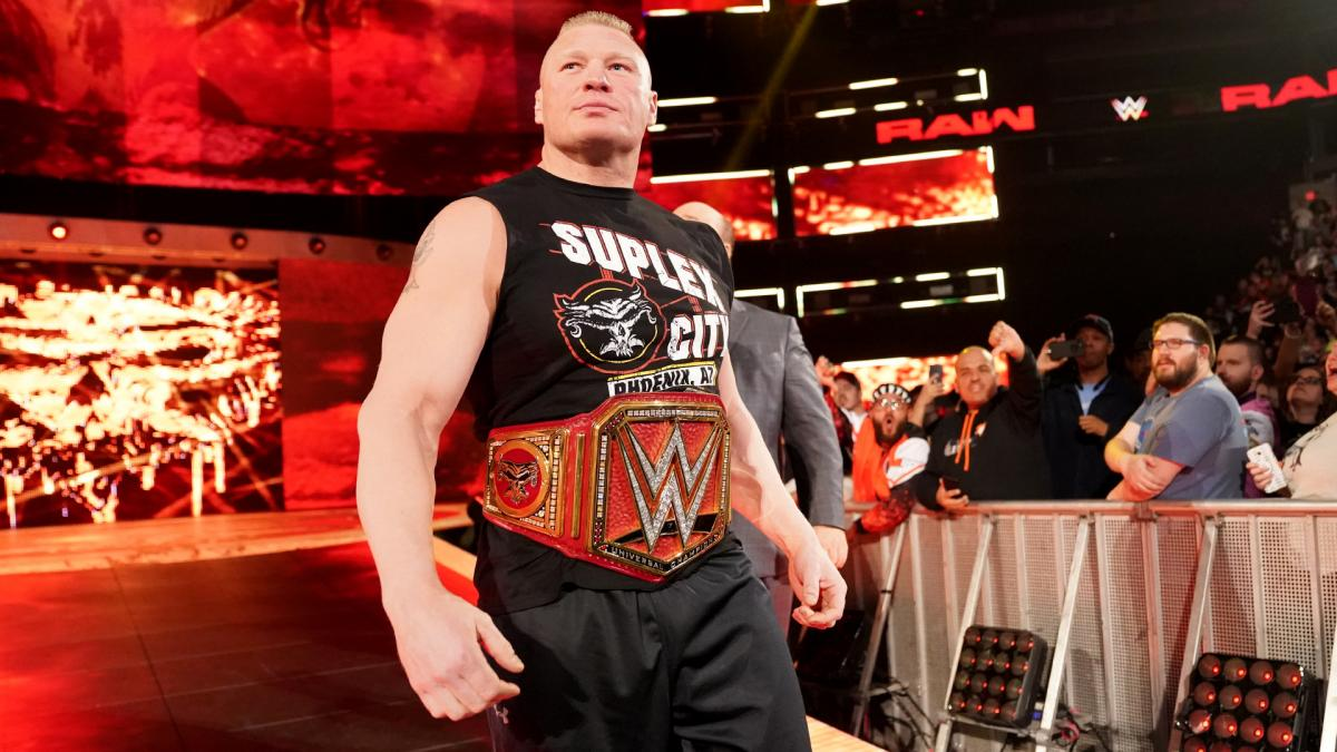 Brock Lesnar Scheduled For No WWE Pay-Per-Views Before 'WrestleMania 35'