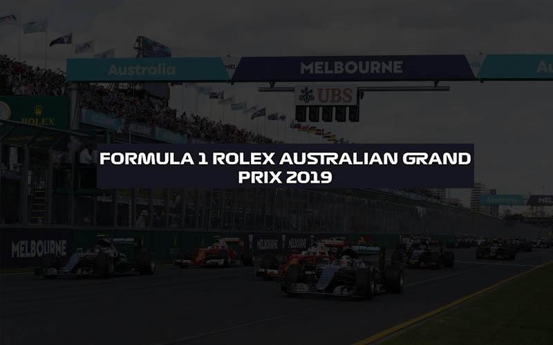 Australian GP live stream