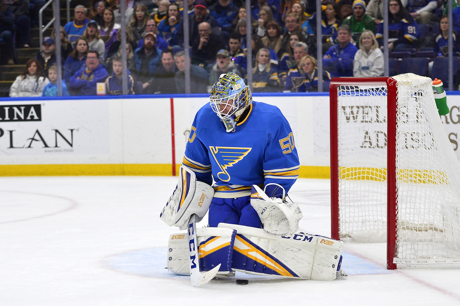 Jordan Binnington officially among the NHL's league leaders