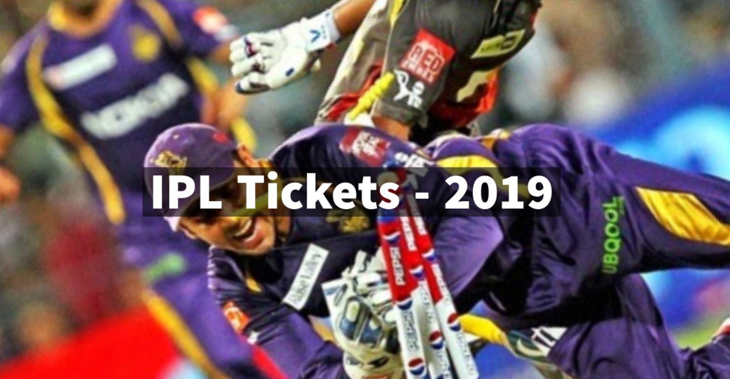 IPL tickets 2019 online