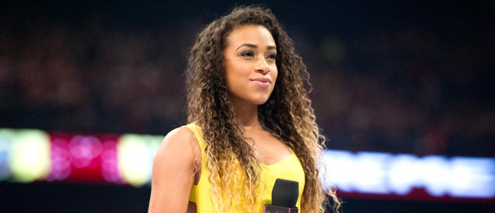 WWE Ring Announcer JoJo