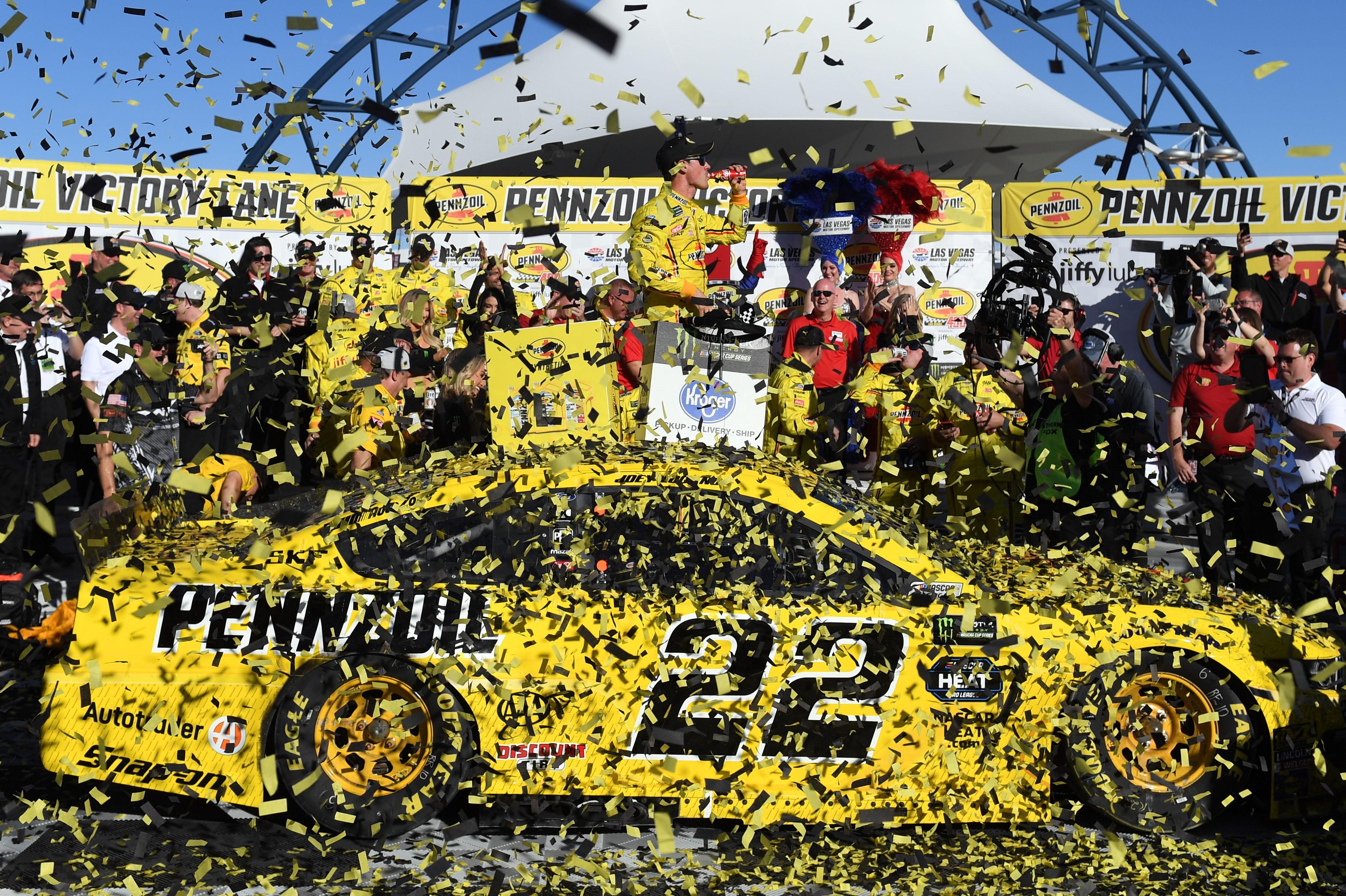 Joey Logano Talks About Winning Pennzoil 400