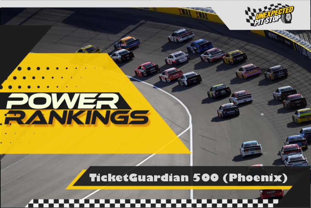 NASCAR Power Rankings: TicketGuardian 500 From Phoenix