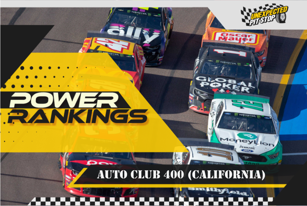 NASCAR Power Rankings: Auto Club 400