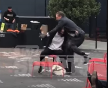 San Francisco Giants CEO Larry Baer caught throwing wife to ground at park (Video)