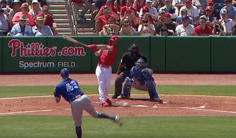 Bryce Harper crushes first Phillies home run (Video)