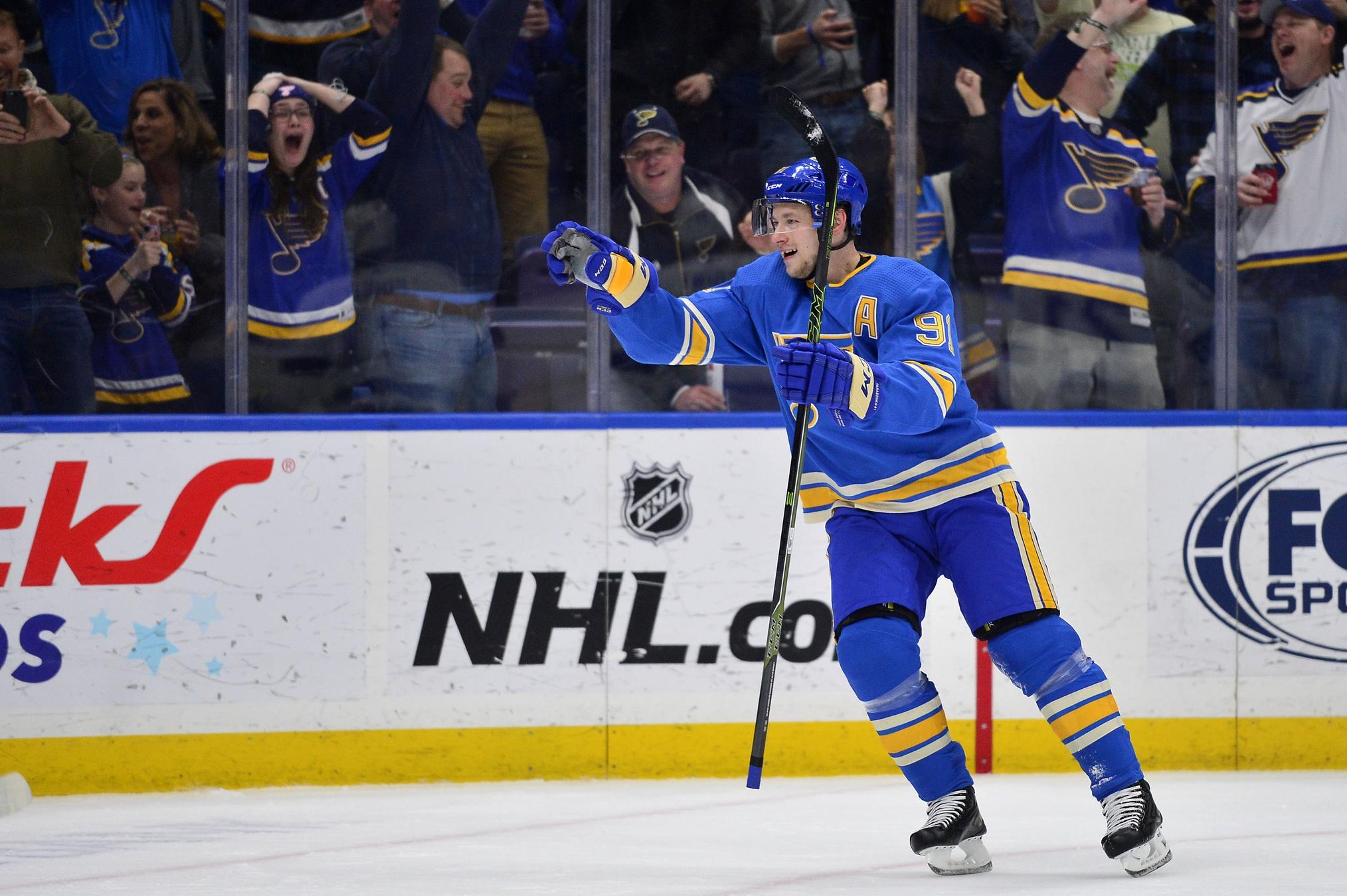 Tarasenko hits 30+ goals for the fifth consecutive season