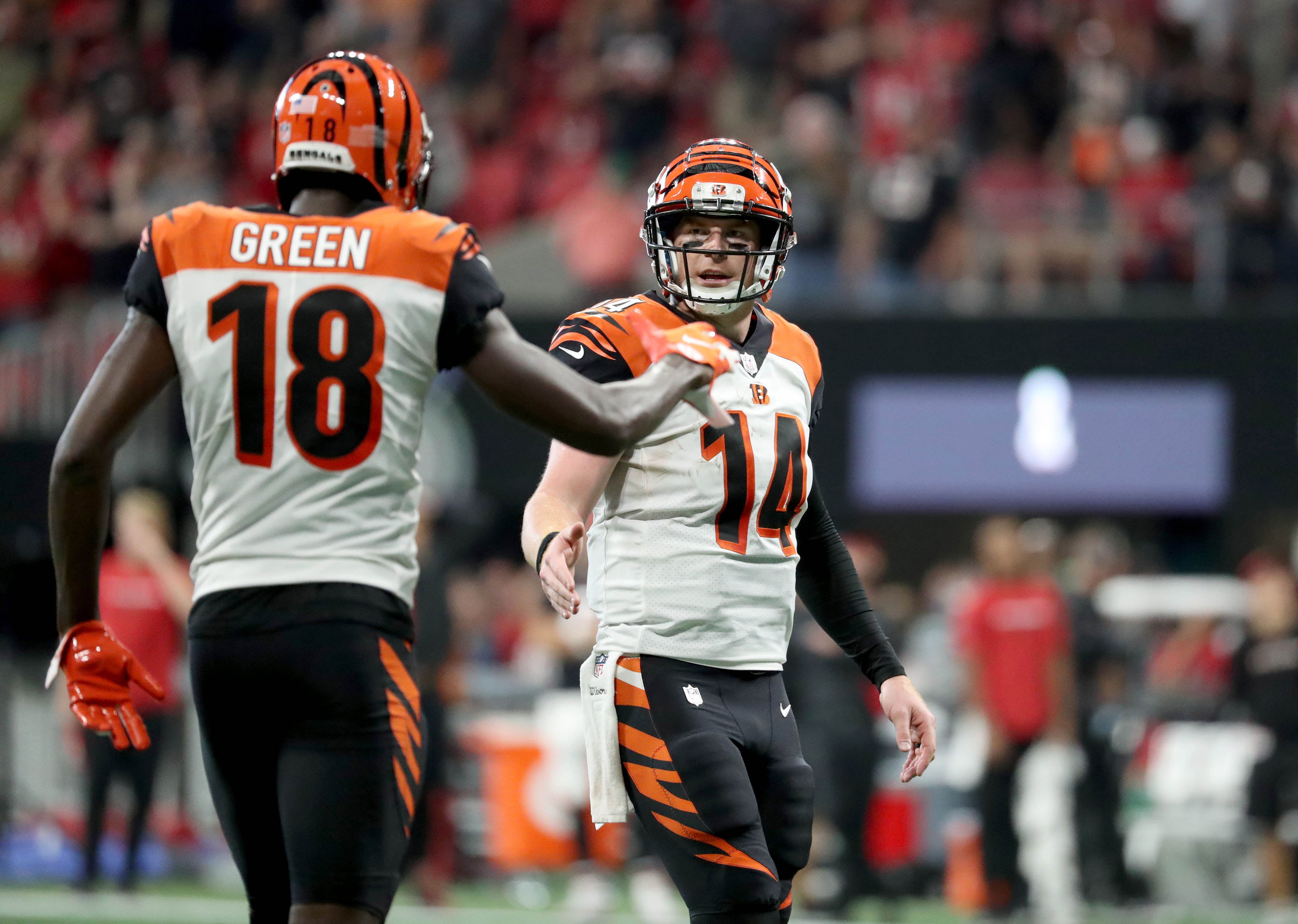 Bengals Could Extend A.J. Green Soon, but Won't Consider Andy Dalton