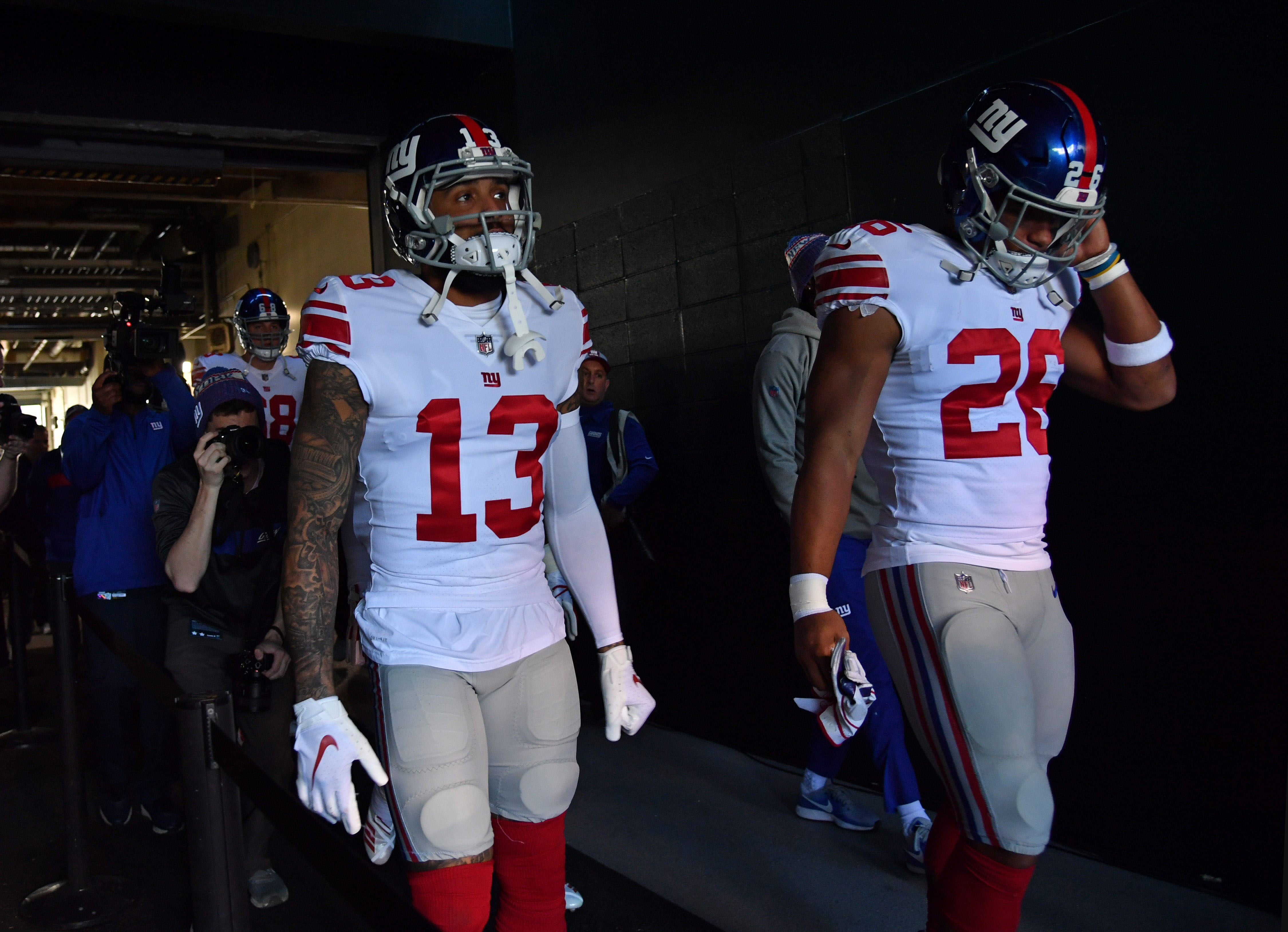 Saquon Barkley reveals Odell Beckham wasn't initially happy about the trade