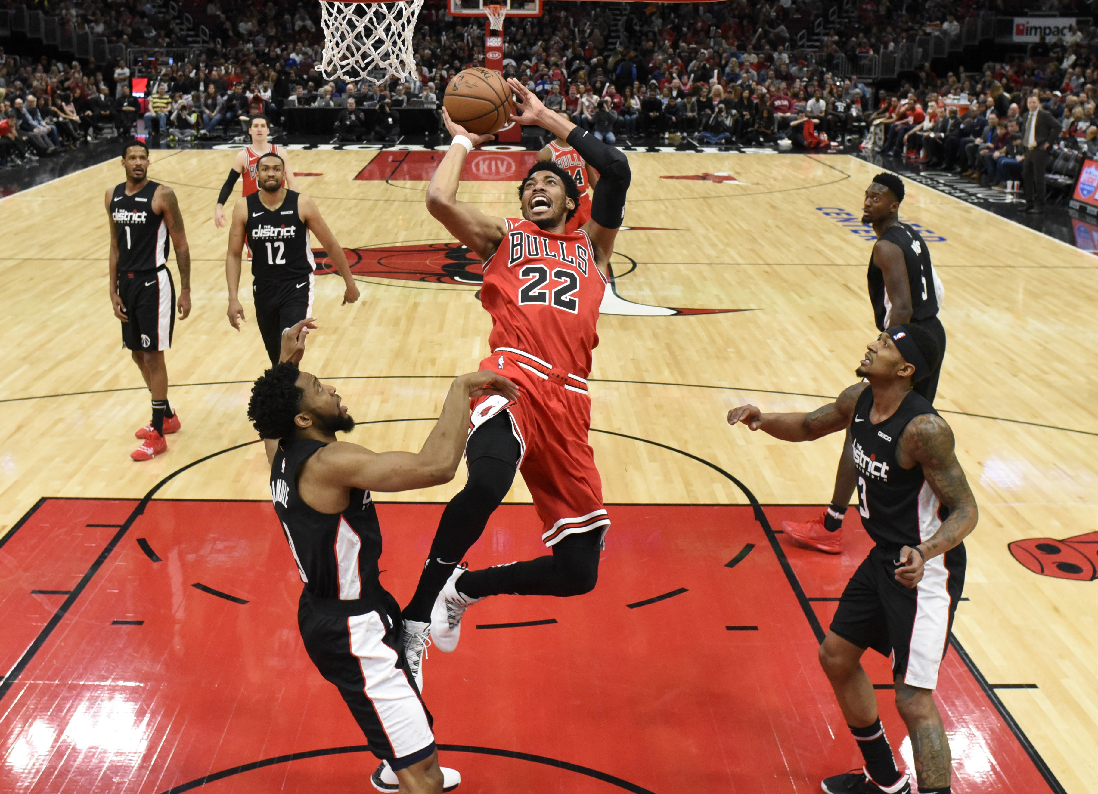 Otto Porter's new Chicago teammates explain his elevated role on and off the floor