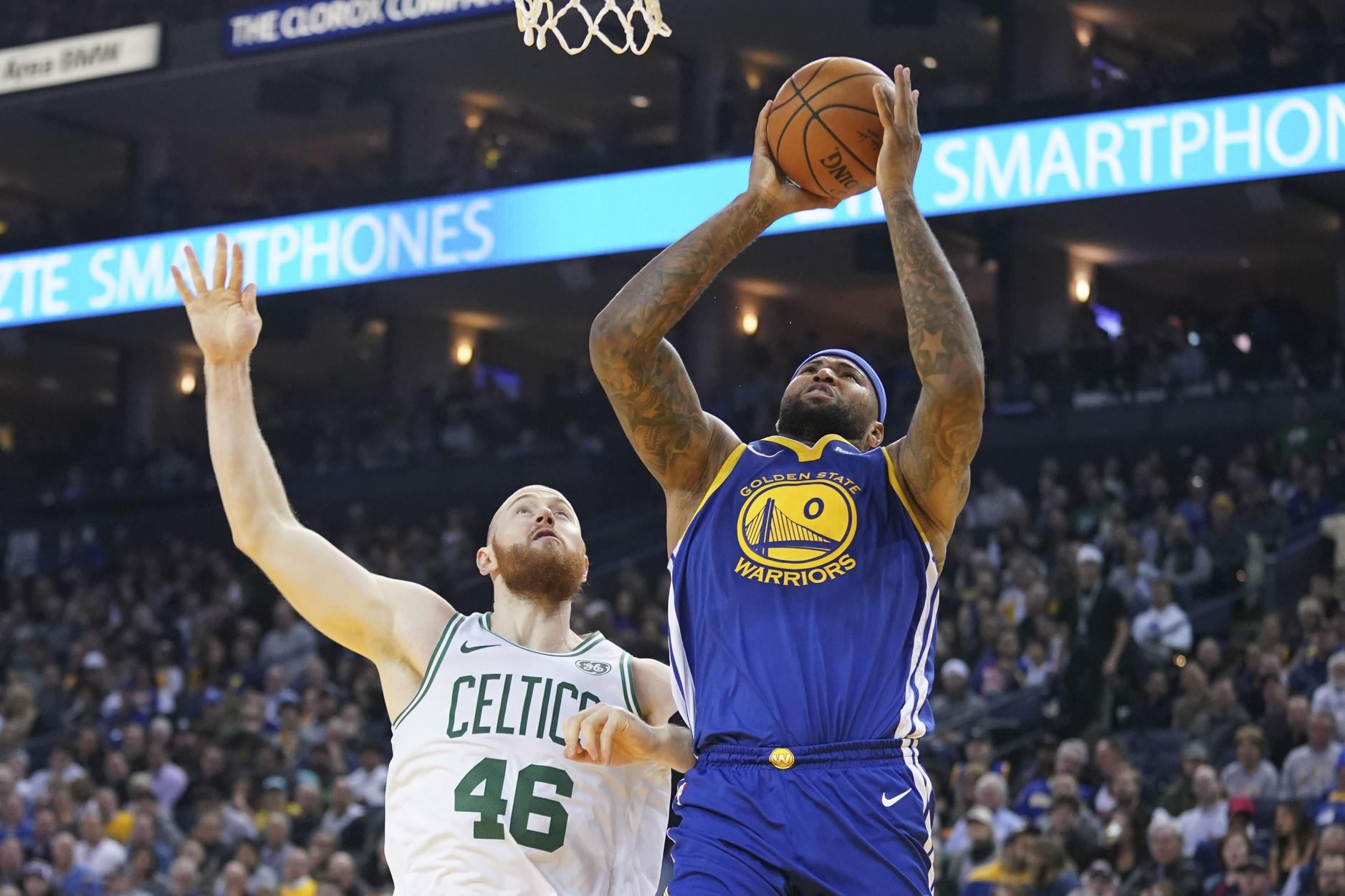 Celtics fan banned for directing racial slur at Boogie Cousins
