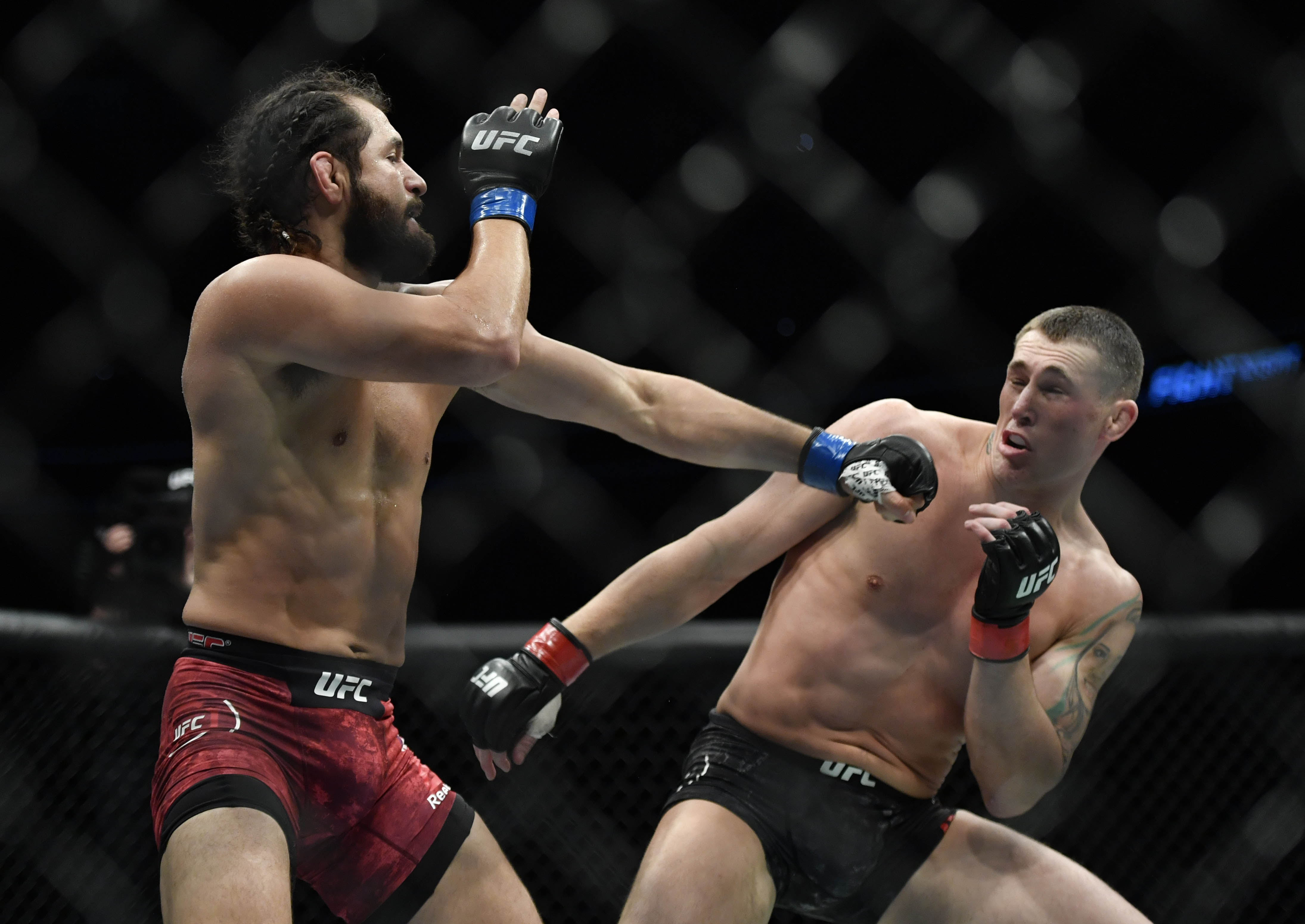 Watch: Jorge Masvidal knocks Darren Till out cold, gets into post-event fight