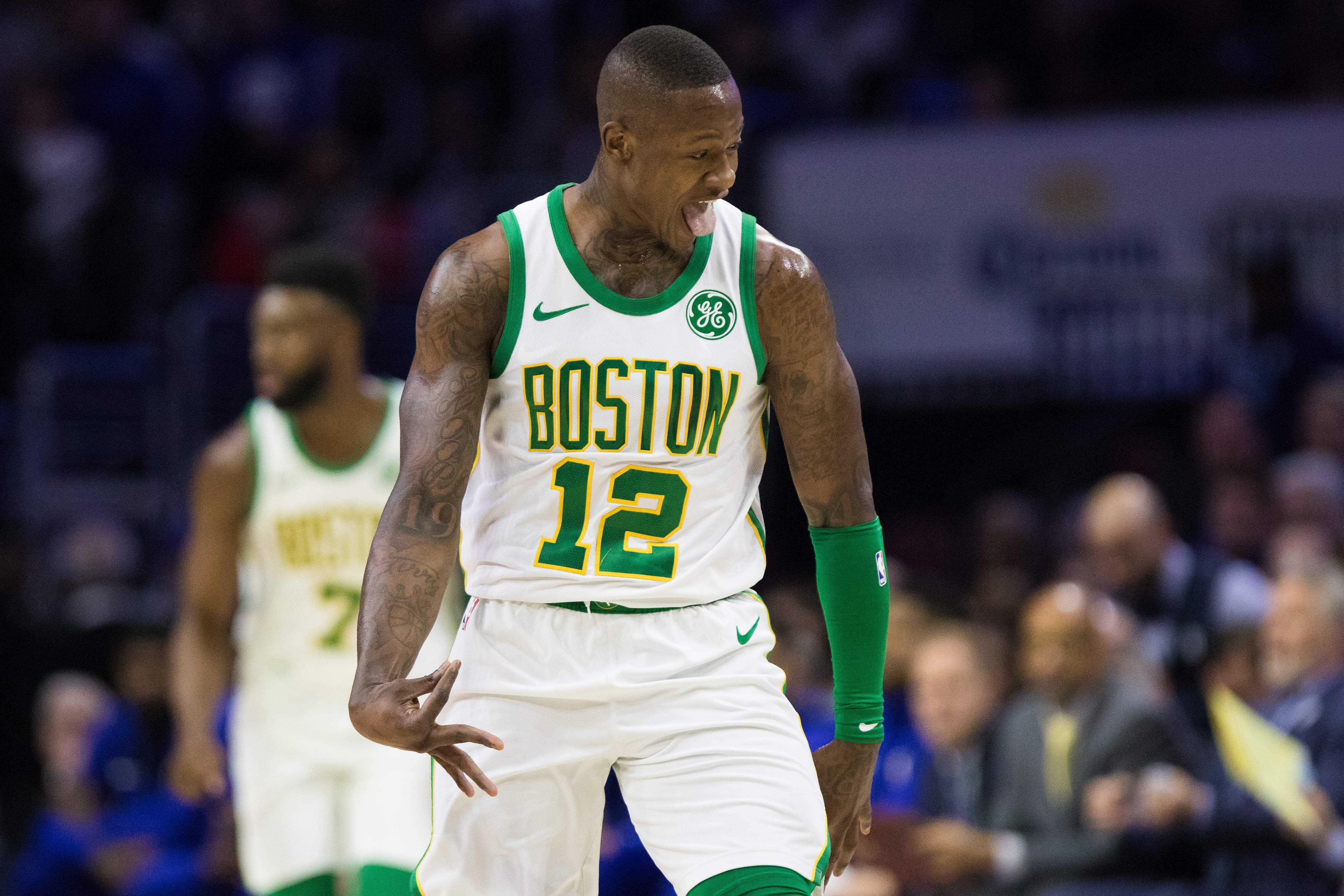 Terry Rozier thinks the Sixers overreacted to a big win