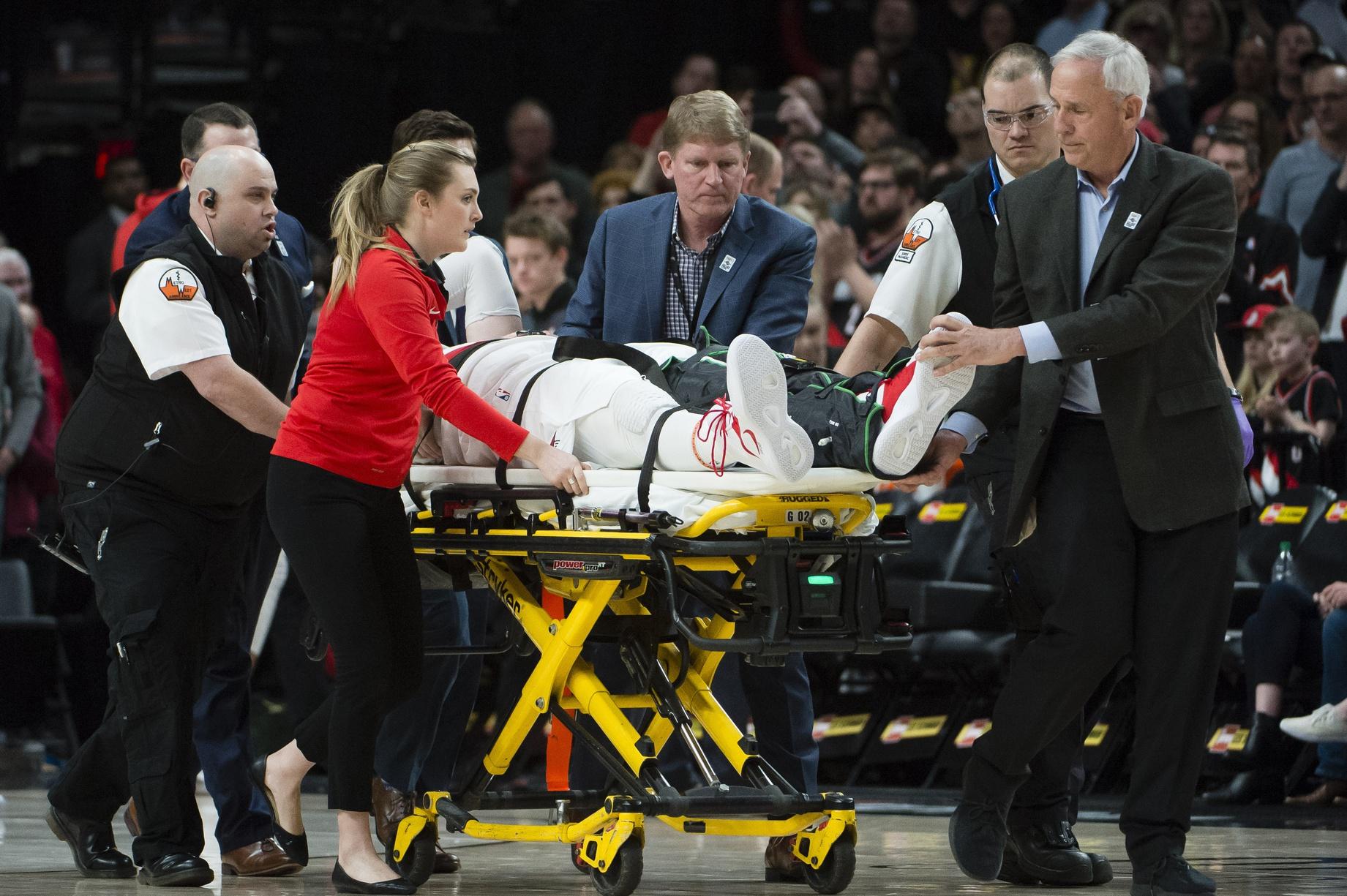 Gordon Hayward wishes Jusuf Nurkic a speedy recovery