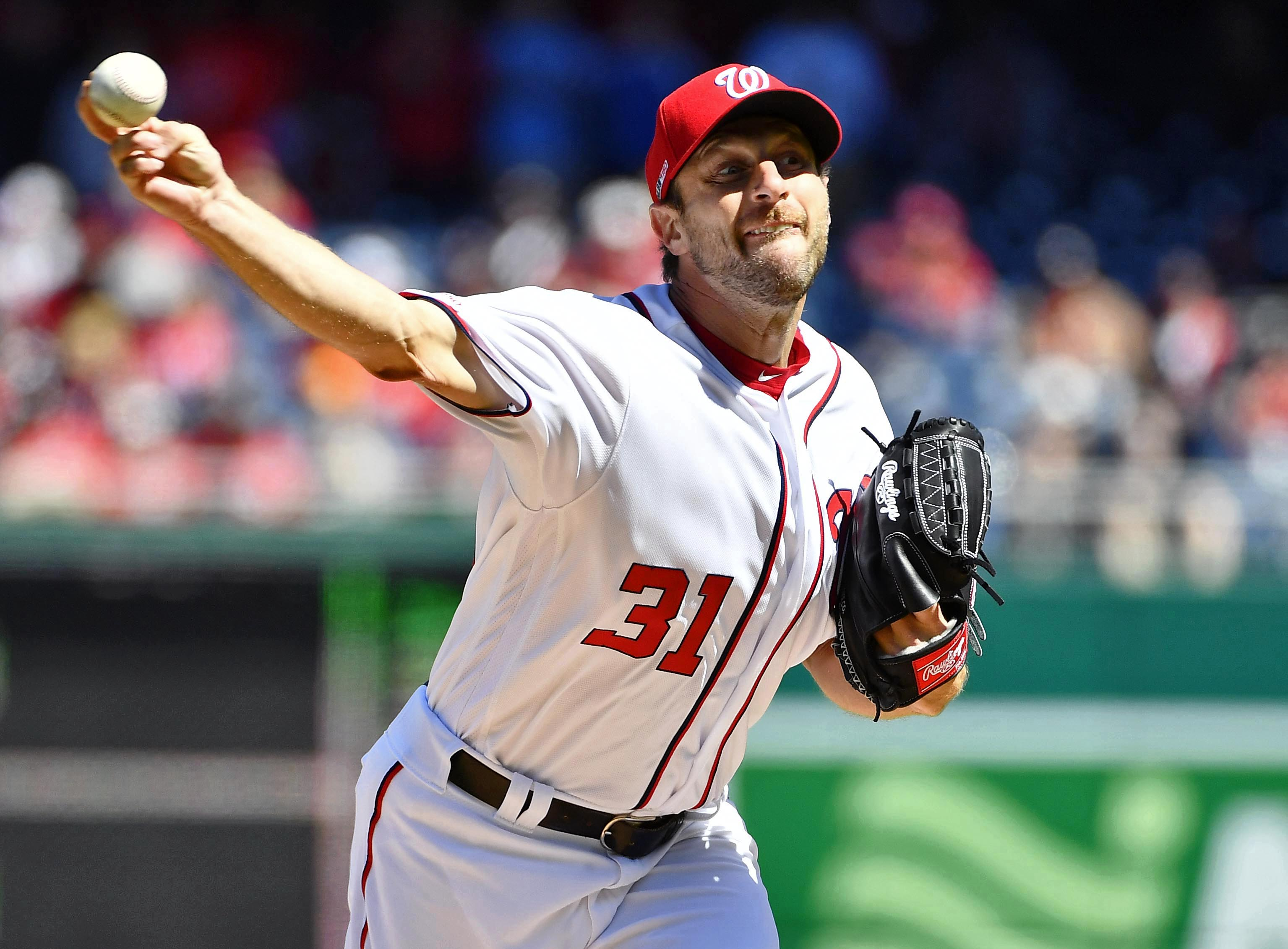 Max Scherzer becomes fifth MLB pitcher with 100 games of 10+ strikeouts