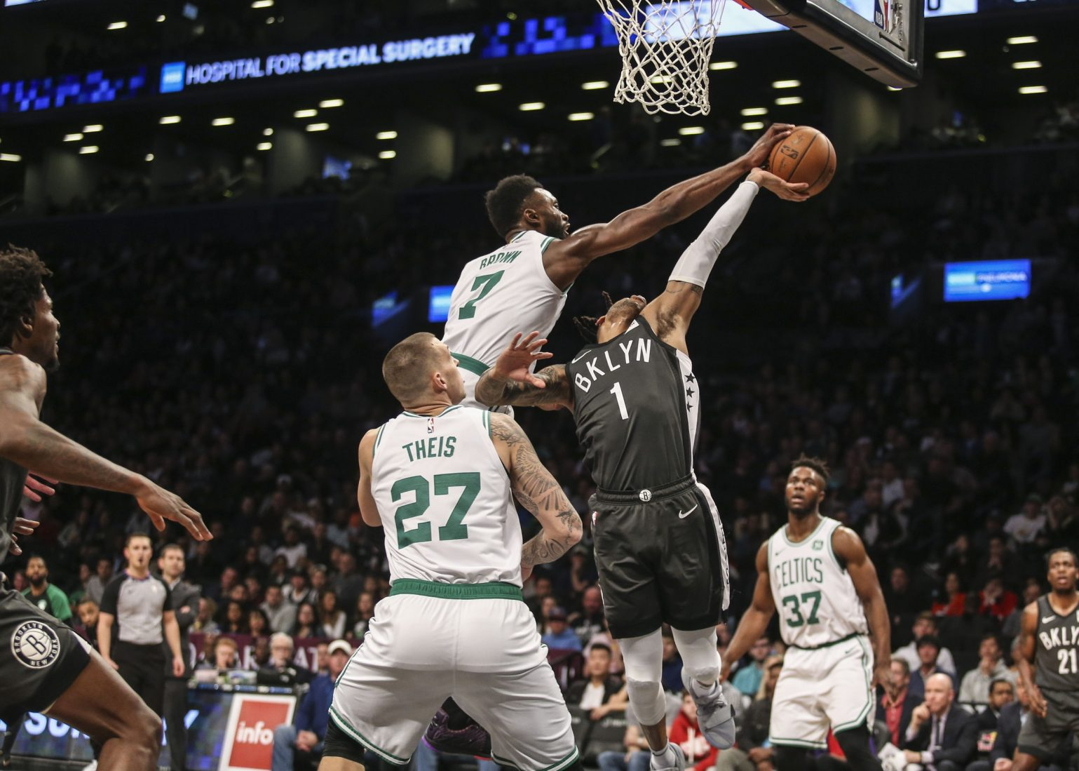 Recap: Celtics walloped by playoff-hungry Nets in 3rd quarter