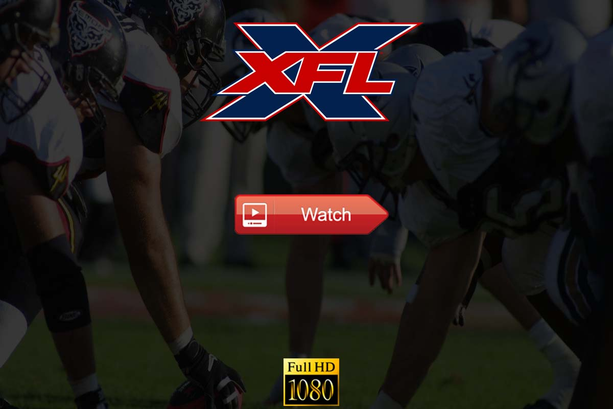 XFL Live Stream