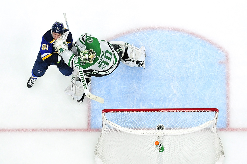 The Blues need to maintain their discipline against the Dallas Stars