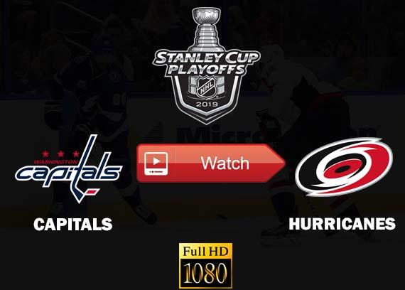 Capitals vs Hurricanes live online