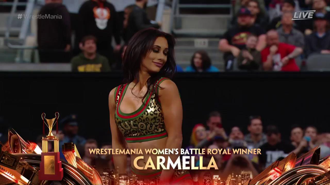 Carmella Wins The WWE 'WrestleMania 35' Women's Battle Royal