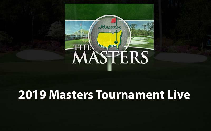 Masters Golf 2019 live