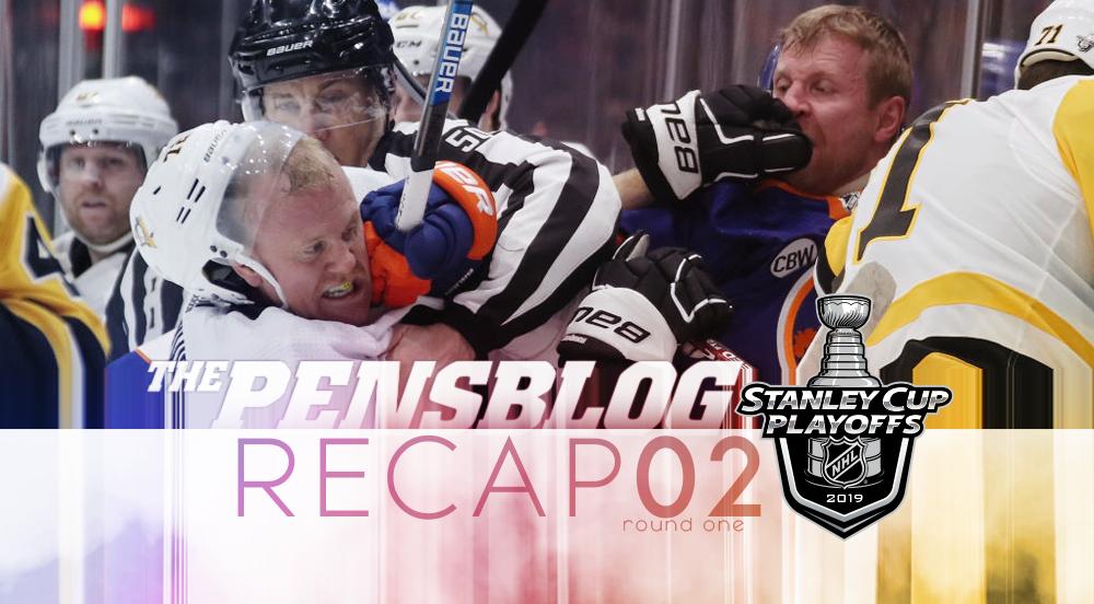R1G2 RECAP: Gotta lose two to win the series in six! Islanders drop Pens, 3-1, to take 2-0 series lead