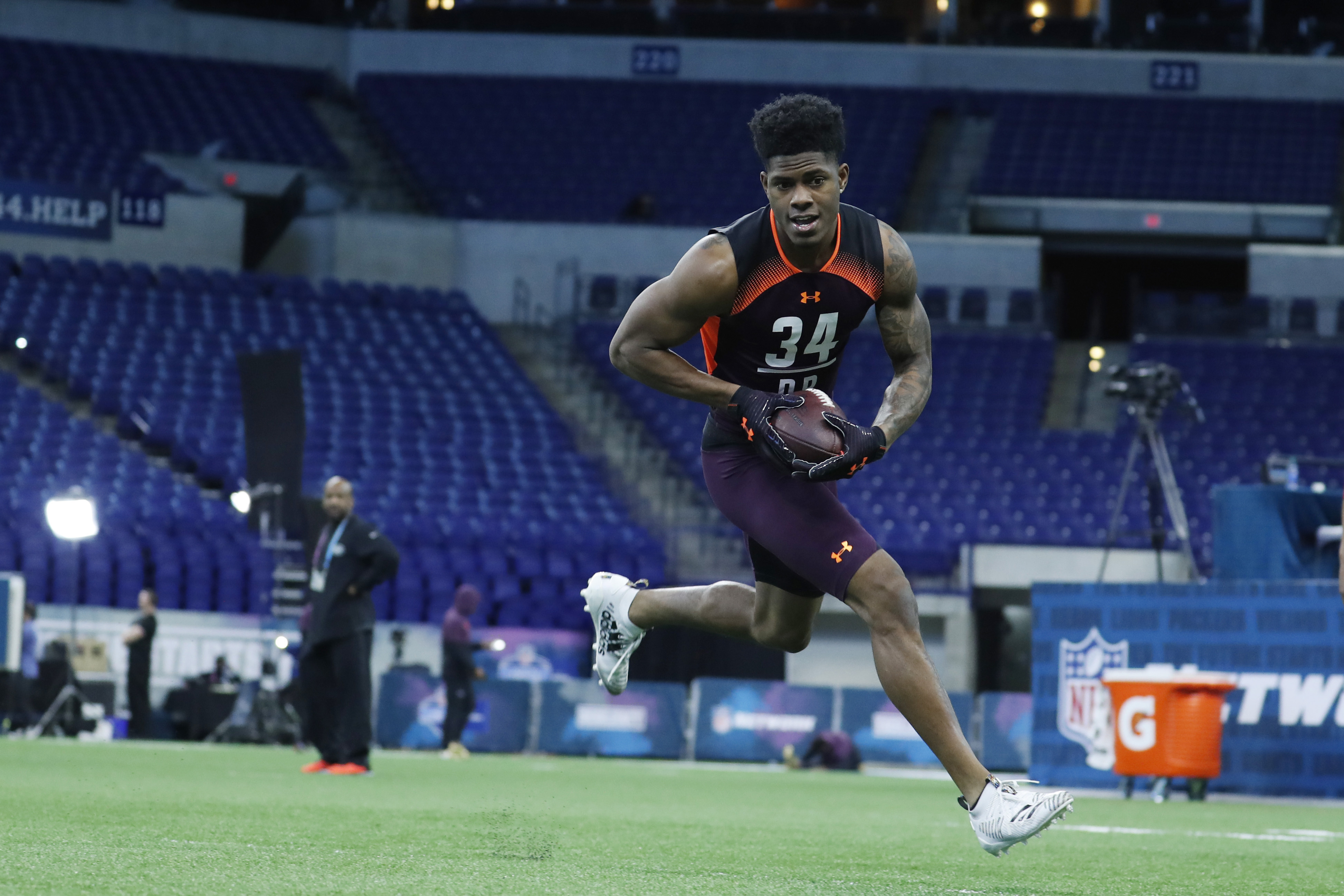 NFL Teams Aren't Showing Much Love to Greedy Williams