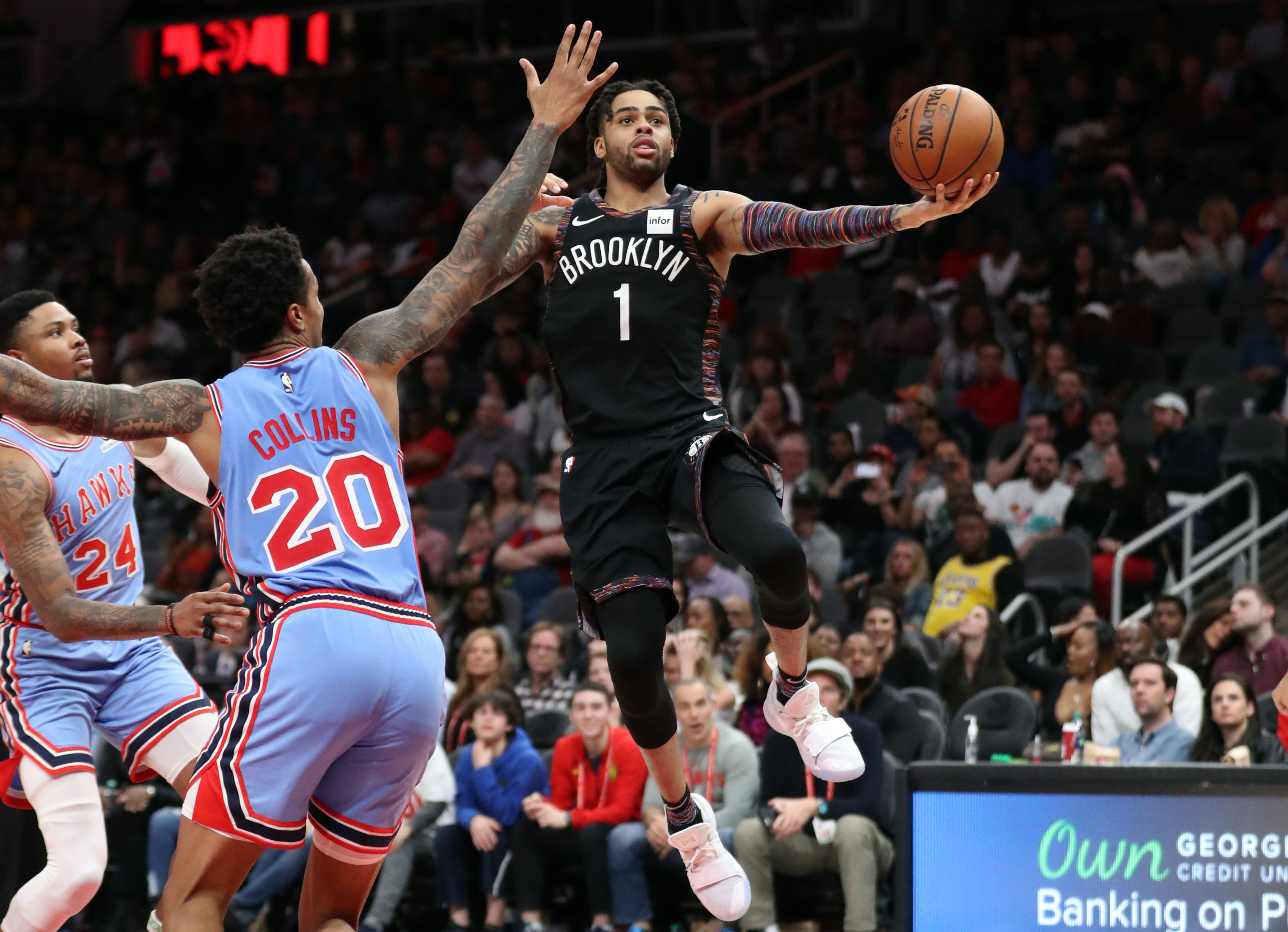 D'Angelo Russell is leading the basketball revolution in Brooklyn