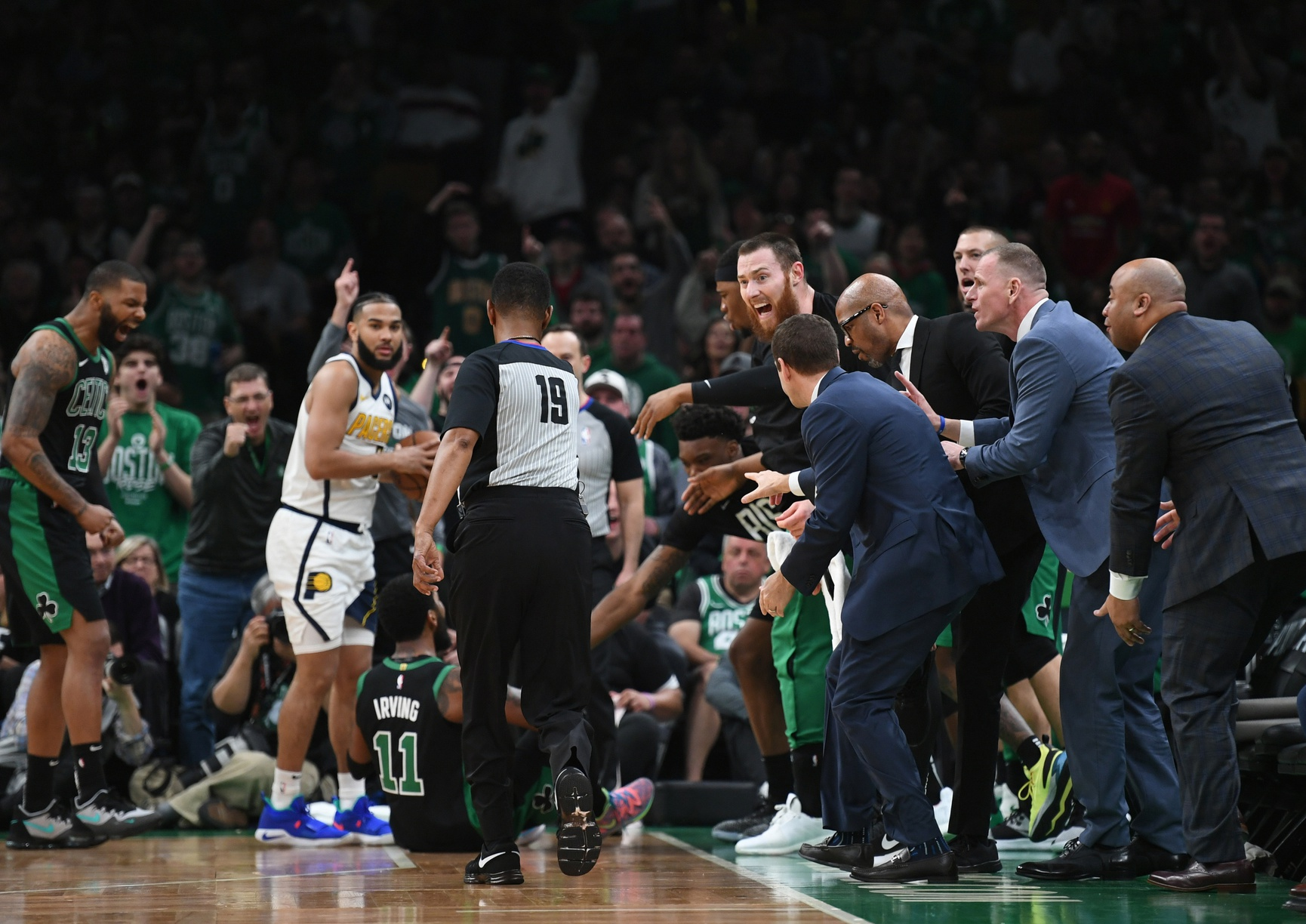 Your Morning Dump... Where Playoff Kyrie brought the hustle on defense