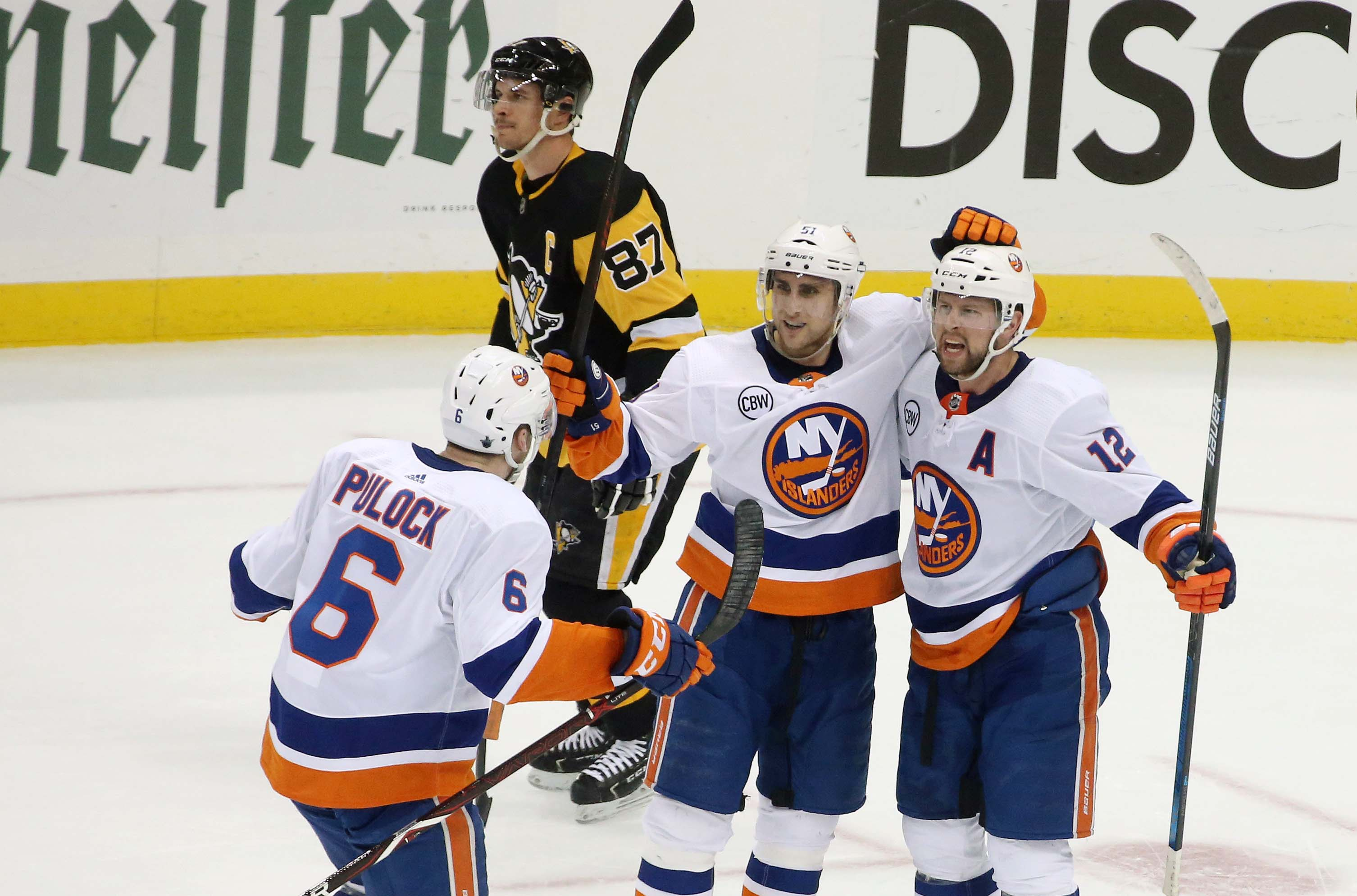 Clean Sweep: Isles defeat Pens 3-1 to advance to second round