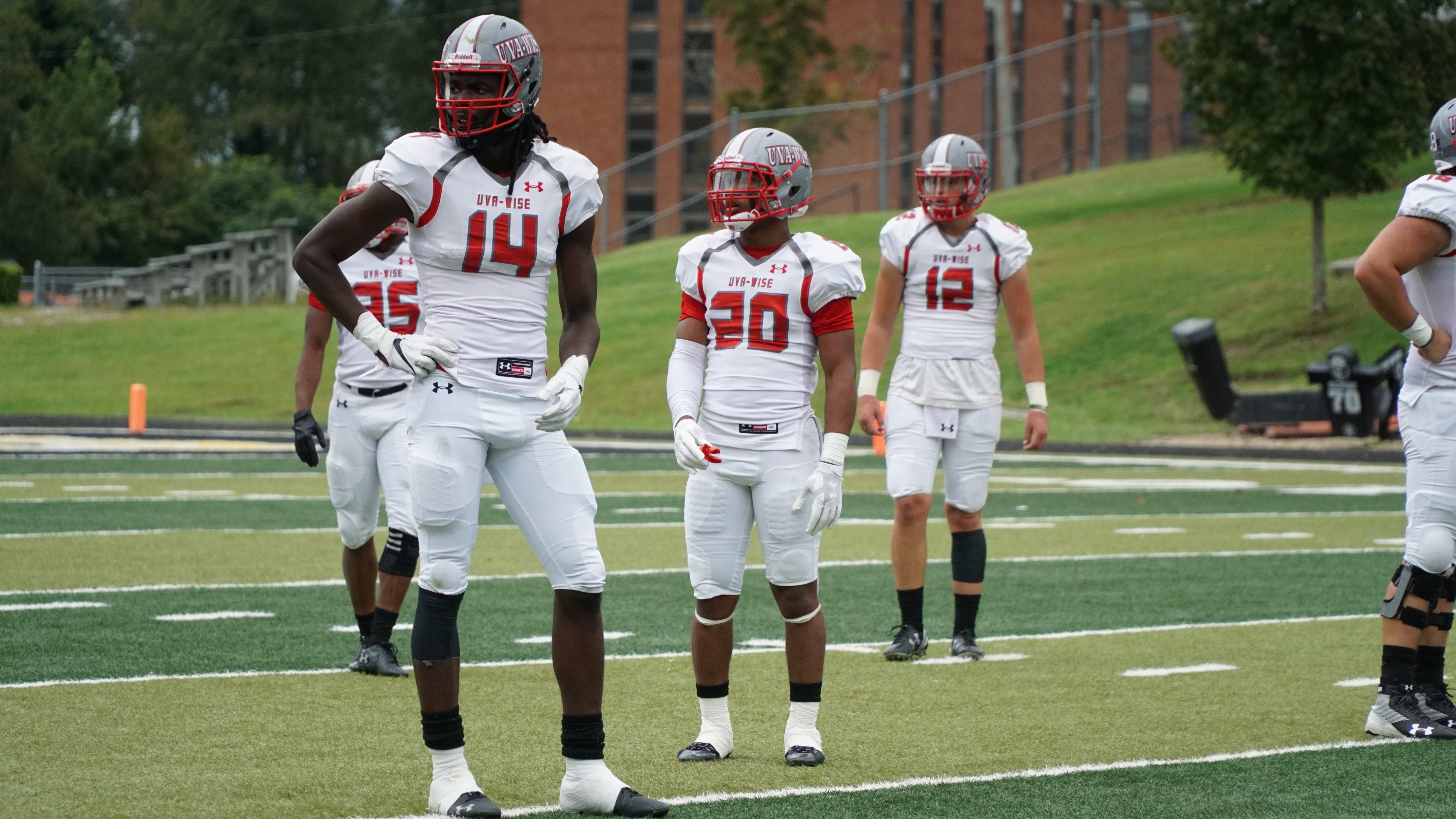 UVA-Wise wide receiver Kaian Duverger