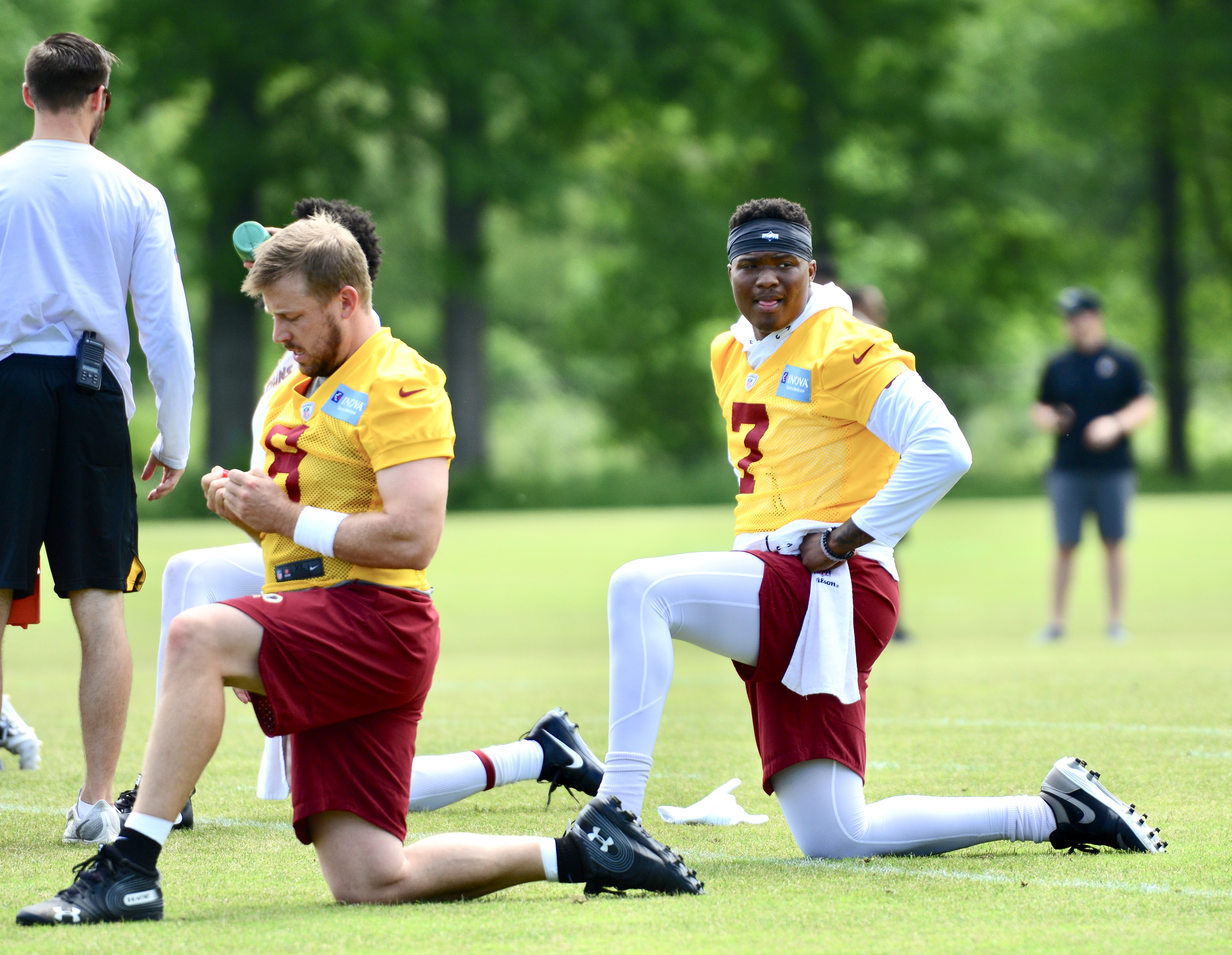 Redskins OTA Quotes: Haskins and Keenum