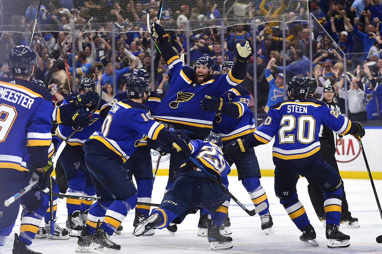 Blues' Game 7 win shattered previous team stereotypes