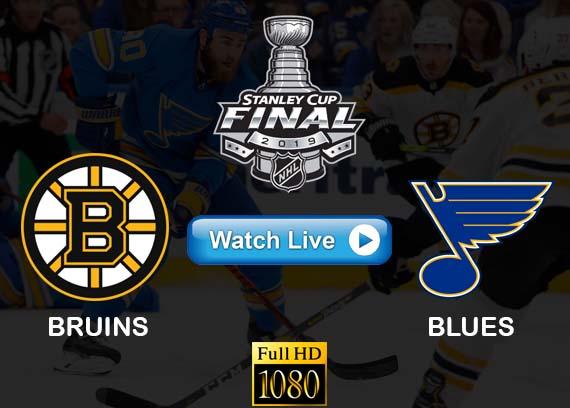 Bruins vs Blues live stream reddit
