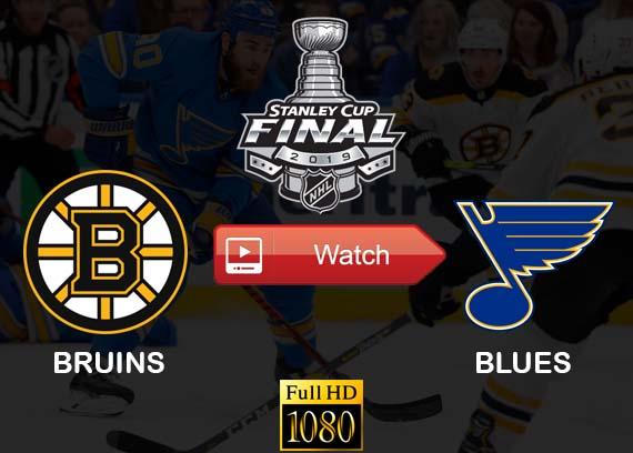 Bruins vs Blues live stream channels