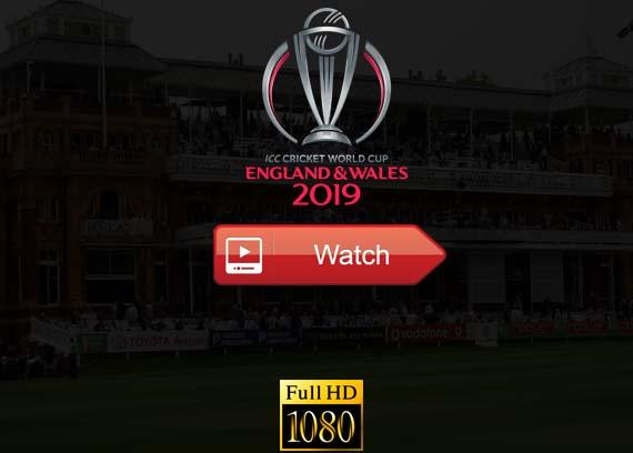 Cricket World Cup 2019 live stream