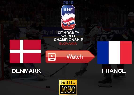 Watch Denmark vs France online