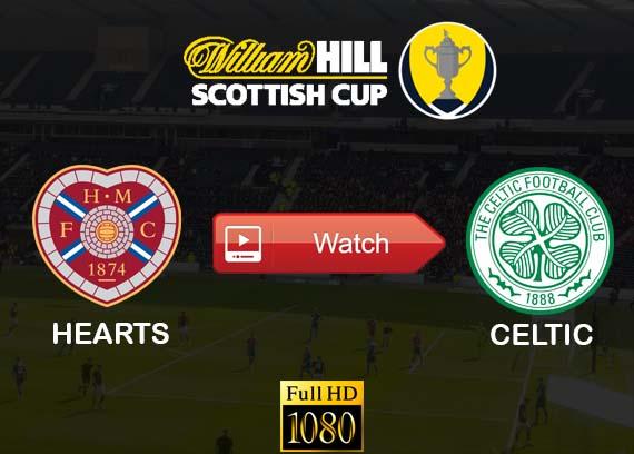 Hearts vs Celtic live stream
