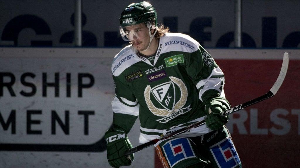 Oilers Sign Joakim Nygard