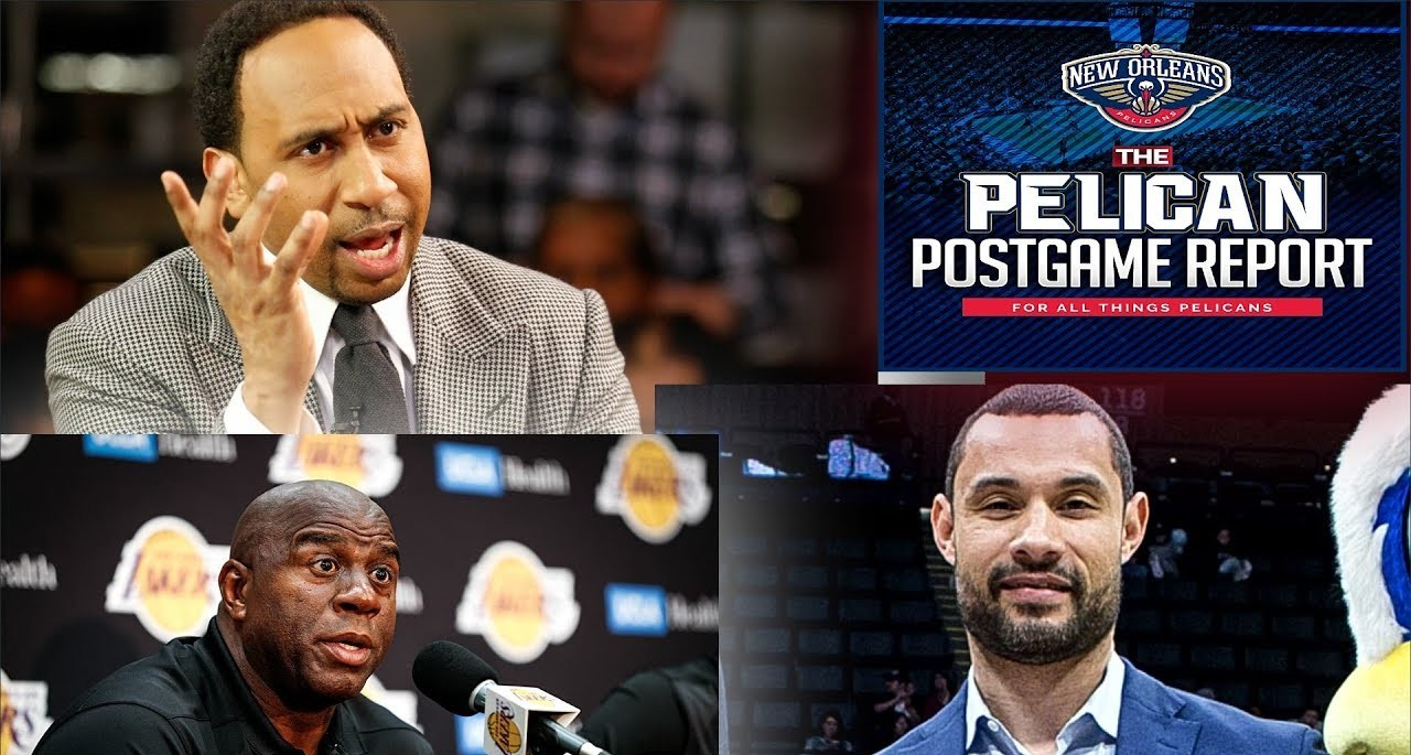 Pelicans Ink New GM, Magic Johnson talks Pels, Stephen A Hating & More