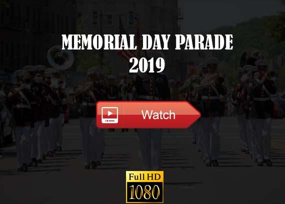 Memorial Day Parade live stream