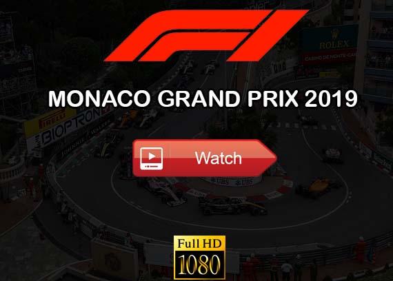 Monaco Grand Prix 2019 live stream