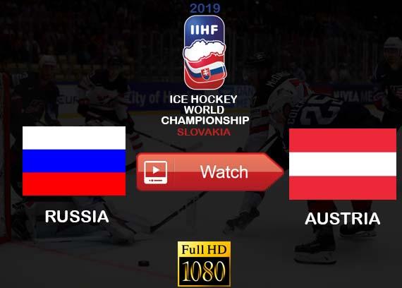 Russia vs Austria live stream