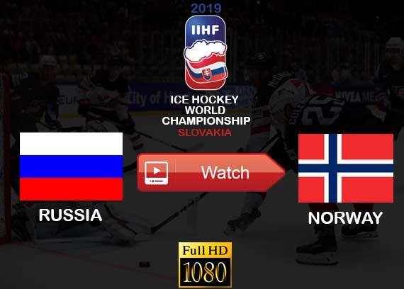 Watch Russia vs Norway online