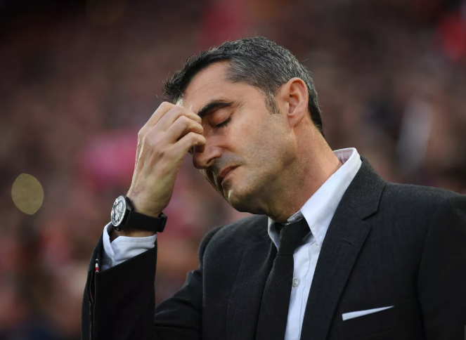 Should Barcelona fire manager Ernesto Valverde after another Champions League fail?